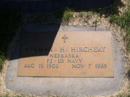 HIRCHERT, HERMAN H. - Dawes County, Nebraska   HERMAN H. HIRCHERT - Nebraska Gravestone Photos