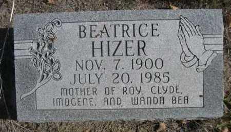 HIZER, BEATRICE - Dawes County, Nebraska | BEATRICE HIZER - Nebraska Gravestone Photos
