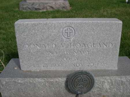 HOAGLAND, DONALD V. - Dawes County, Nebraska | DONALD V. HOAGLAND - Nebraska Gravestone Photos