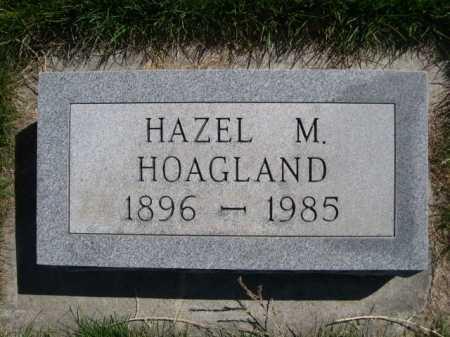 HOAGLAND, HAZEL M. - Dawes County, Nebraska   HAZEL M. HOAGLAND - Nebraska Gravestone Photos