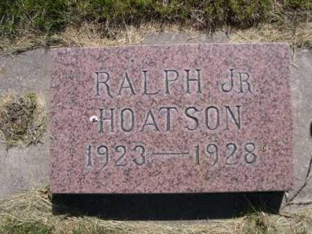HOATSON, RALPH JR. - Dawes County, Nebraska | RALPH JR. HOATSON - Nebraska Gravestone Photos