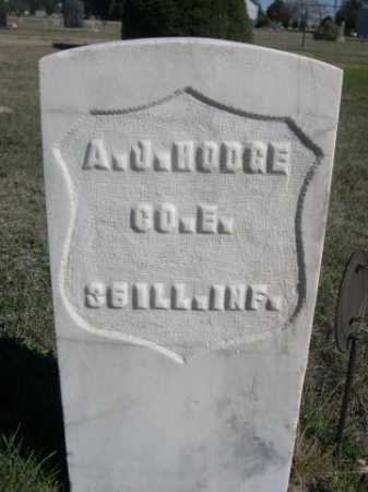 HODGE, A.J. - Dawes County, Nebraska | A.J. HODGE - Nebraska Gravestone Photos