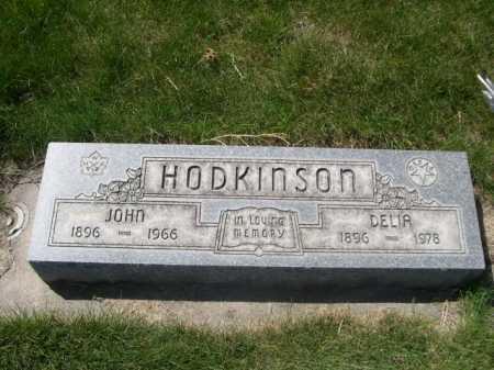 HODKINSON, DELIA - Dawes County, Nebraska | DELIA HODKINSON - Nebraska Gravestone Photos