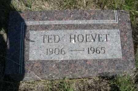 HOEVET, TED - Dawes County, Nebraska | TED HOEVET - Nebraska Gravestone Photos