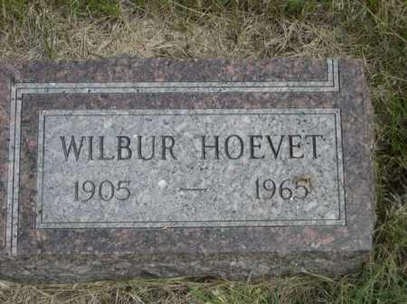 HOEVET, WILBUR - Dawes County, Nebraska | WILBUR HOEVET - Nebraska Gravestone Photos