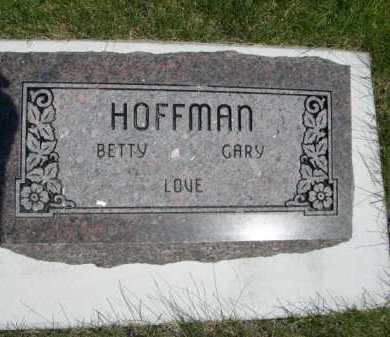 HOFFMAN, BETTY - Dawes County, Nebraska | BETTY HOFFMAN - Nebraska Gravestone Photos