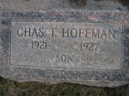 HOFFMAN, CHAS. T. - Dawes County, Nebraska | CHAS. T. HOFFMAN - Nebraska Gravestone Photos