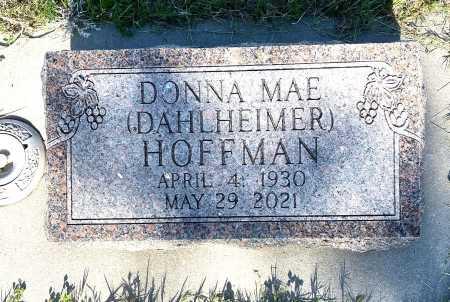DAHLHEIMER HOFFMAN, DONNA MAE - Dawes County, Nebraska   DONNA MAE DAHLHEIMER HOFFMAN - Nebraska Gravestone Photos