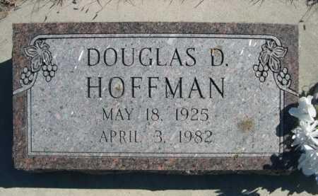 HOFFMAN, DOUGLAS D. - Dawes County, Nebraska | DOUGLAS D. HOFFMAN - Nebraska Gravestone Photos
