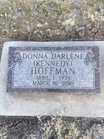 KENNEDY HOFFMAN, DONNA DARLENE - Dawes County, Nebraska | DONNA DARLENE KENNEDY HOFFMAN - Nebraska Gravestone Photos