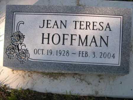 HOFFMAN, JEAN TERESA - Dawes County, Nebraska   JEAN TERESA HOFFMAN - Nebraska Gravestone Photos