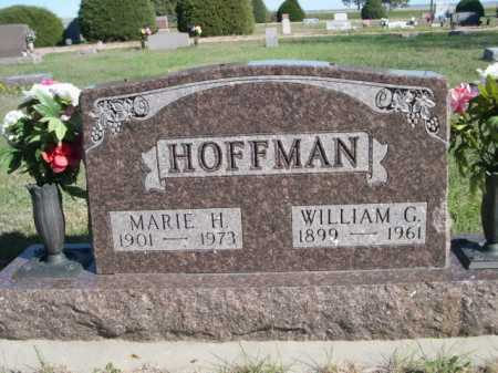 HOFFMAN, WILLIAM G. - Dawes County, Nebraska | WILLIAM G. HOFFMAN - Nebraska Gravestone Photos