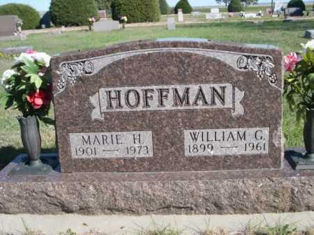 HOFFMAN, MARIE H. - Dawes County, Nebraska | MARIE H. HOFFMAN - Nebraska Gravestone Photos