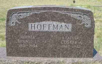 HOFFMAN, GUSTAV A. - Dawes County, Nebraska | GUSTAV A. HOFFMAN - Nebraska Gravestone Photos