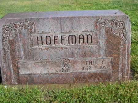 HOFFMAN, PAUL C. - Dawes County, Nebraska | PAUL C. HOFFMAN - Nebraska Gravestone Photos