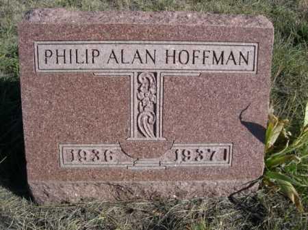 HOFFMAN, PHILIP ALAN - Dawes County, Nebraska   PHILIP ALAN HOFFMAN - Nebraska Gravestone Photos