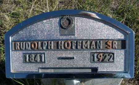HOFFMAN, RUDOLPH SR. - Dawes County, Nebraska | RUDOLPH SR. HOFFMAN - Nebraska Gravestone Photos