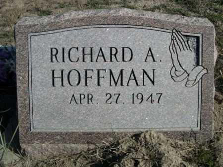 HOFFMAN, RICHARD A. - Dawes County, Nebraska | RICHARD A. HOFFMAN - Nebraska Gravestone Photos