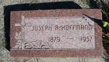 HOFFMANN, JOSEPH A. - Dawes County, Nebraska   JOSEPH A. HOFFMANN - Nebraska Gravestone Photos