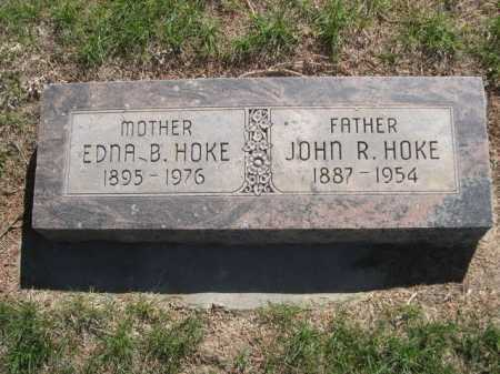 HOKE, JOHN R. - Dawes County, Nebraska   JOHN R. HOKE - Nebraska Gravestone Photos