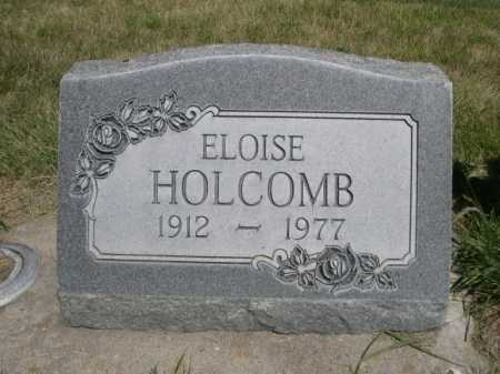 HOLCOMB, ELOISE - Dawes County, Nebraska | ELOISE HOLCOMB - Nebraska Gravestone Photos