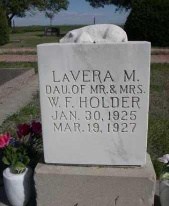 HOLDER, LAVERA M. - Dawes County, Nebraska | LAVERA M. HOLDER - Nebraska Gravestone Photos