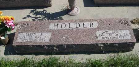 HOLDER, MARY J. - Dawes County, Nebraska   MARY J. HOLDER - Nebraska Gravestone Photos