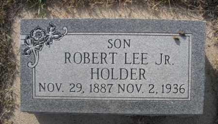 HOLDER, ROBERT LEE JR. - Dawes County, Nebraska | ROBERT LEE JR. HOLDER - Nebraska Gravestone Photos