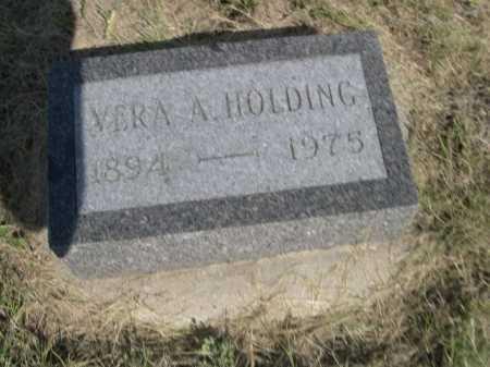 HOLDING, VERA A. - Dawes County, Nebraska | VERA A. HOLDING - Nebraska Gravestone Photos