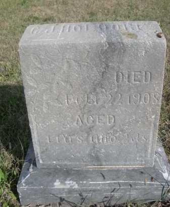 HOLDORF, C.J. - Dawes County, Nebraska | C.J. HOLDORF - Nebraska Gravestone Photos