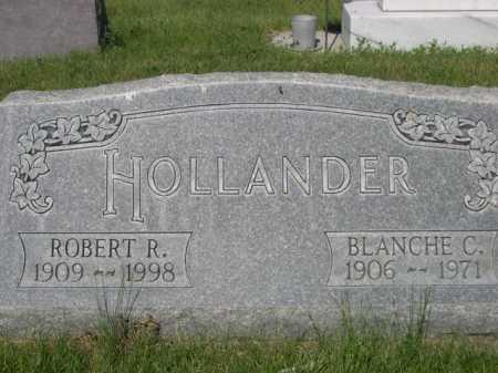 HOLLANDER, ROBERT R. - Dawes County, Nebraska | ROBERT R. HOLLANDER - Nebraska Gravestone Photos