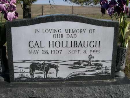 HOLLIBAUGH, CAL - Dawes County, Nebraska   CAL HOLLIBAUGH - Nebraska Gravestone Photos
