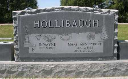 HOLLIBAUGH, MARY ANN - Dawes County, Nebraska | MARY ANN HOLLIBAUGH - Nebraska Gravestone Photos