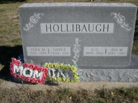 HOLLIBAUGH, C. G. - Dawes County, Nebraska | C. G. HOLLIBAUGH - Nebraska Gravestone Photos