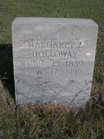 HOLLOWAY, MARGARET A. - Dawes County, Nebraska   MARGARET A. HOLLOWAY - Nebraska Gravestone Photos