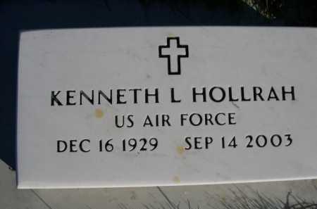 HOLLRAH, KENNETH L. - Dawes County, Nebraska | KENNETH L. HOLLRAH - Nebraska Gravestone Photos