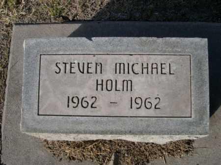 HOLM, STEVEN MICHAEL - Dawes County, Nebraska | STEVEN MICHAEL HOLM - Nebraska Gravestone Photos