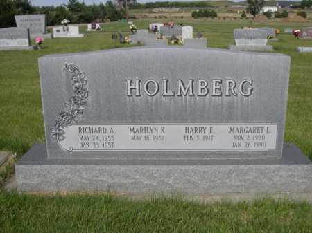 HOLMBERG, HARRY E. - Dawes County, Nebraska | HARRY E. HOLMBERG - Nebraska Gravestone Photos