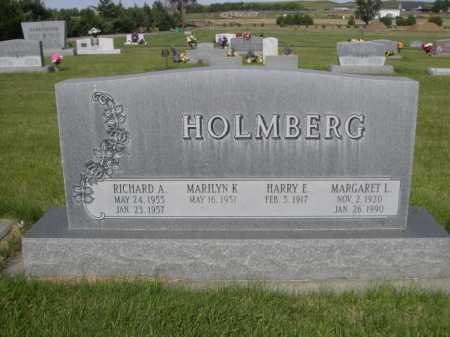 HOLMBERG, RICHARD A. - Dawes County, Nebraska | RICHARD A. HOLMBERG - Nebraska Gravestone Photos