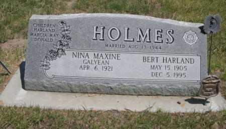 HOLMES, NINA MAXINE GALYEAN - Dawes County, Nebraska | NINA MAXINE GALYEAN HOLMES - Nebraska Gravestone Photos