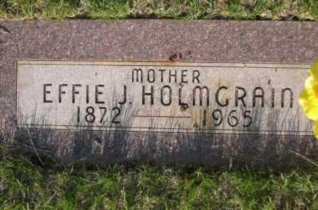 HOLMGRAIN, EFFIE J. - Dawes County, Nebraska   EFFIE J. HOLMGRAIN - Nebraska Gravestone Photos