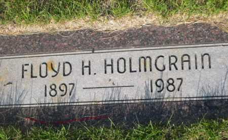 HOLMGRAIN, FLOYD H. - Dawes County, Nebraska   FLOYD H. HOLMGRAIN - Nebraska Gravestone Photos
