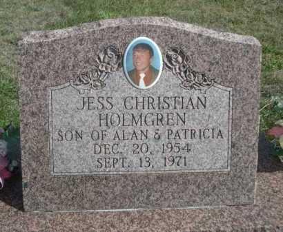 HOLMGREN, JESS CHRISTIAN - Dawes County, Nebraska | JESS CHRISTIAN HOLMGREN - Nebraska Gravestone Photos