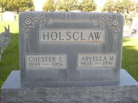 HOLSCLAW, CHESTER L. - Dawes County, Nebraska | CHESTER L. HOLSCLAW - Nebraska Gravestone Photos