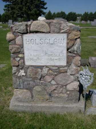 HOLSCLAW, WESLEY - Dawes County, Nebraska   WESLEY HOLSCLAW - Nebraska Gravestone Photos