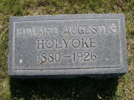 HOLYOKE, EDWARD AUGUSTUS - Dawes County, Nebraska | EDWARD AUGUSTUS HOLYOKE - Nebraska Gravestone Photos