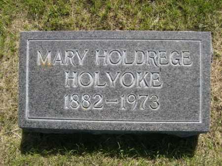 HOLYOKE, MARY HOLDREGE - Dawes County, Nebraska   MARY HOLDREGE HOLYOKE - Nebraska Gravestone Photos