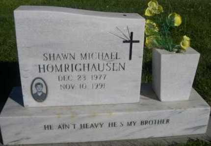 HOMRIGHAUSEN, SHAWN MICHAEL - Dawes County, Nebraska | SHAWN MICHAEL HOMRIGHAUSEN - Nebraska Gravestone Photos