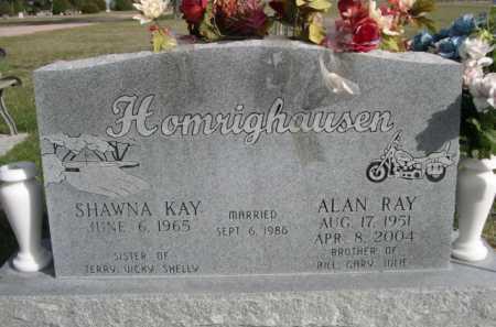 HOMRIGHAUSEN, ALAN RAY - Dawes County, Nebraska | ALAN RAY HOMRIGHAUSEN - Nebraska Gravestone Photos
