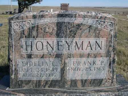 HONEYMAN, FRANK P. - Dawes County, Nebraska | FRANK P. HONEYMAN - Nebraska Gravestone Photos